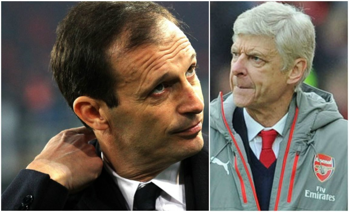 Staffetta Wenger-Allegri all'Arsenal?